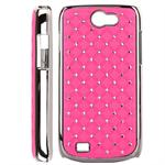 Bling Bling Diamond Chrome Samsung Galaxy W (Pink)